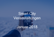 Smart City Events Januar 2018