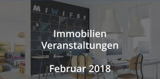 immobilien Veranstaltungen Real Estate Events Februar 2018