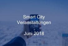 Smart City Event Juni 2018 Veranstaltung
