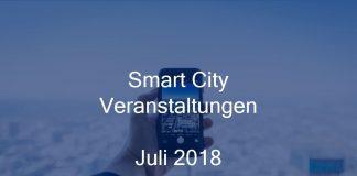 Smart City Juli 2018 Event München Berlin Stuttgart Geoinformatik Stadtentwicklung