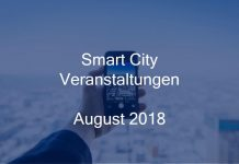 smart city events august 2018 veranstaltung stadtentwicklung digital münchen berlin hamburg köln stuttgart frankfurt