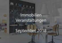 Immobilien Events September 2018 Veranstaltung