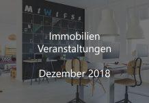Immobilienwirtschaft Veranstaltungen Dezember 2018 Real Estate Event Deutschland Berlin Hamburg München Frankfurt