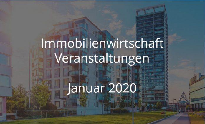 Immobilienwirtschaft Events Januar 2020