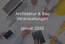 Baubranche Veranstaltungen Januar 2020