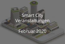 Smart City Veranstaltungen Februar 2020