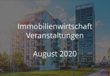 immobilienwirtschaft august 2020